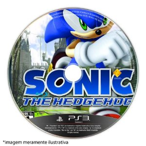 Sonic The Hedgehog (SEM CAPA) Seminovo - PS3