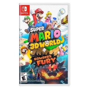 Super Mario 3D World + Bowser's Fury - Nintendo Switch