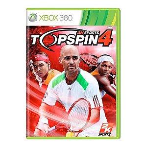 Top Spin 4 Seminovo - Xbox 360