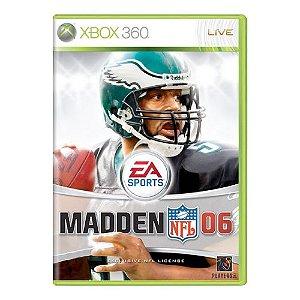 Madden NFL 06 Seminovo - Xbox 360