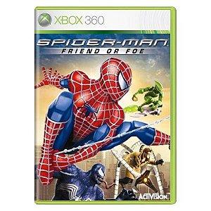 Spider-Man Friend or Foe Seminovo - Xbox 360