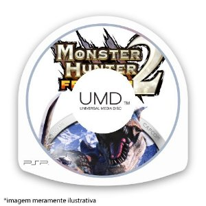 Monster Hunter 2: Freedom (SEM CAPA) Seminovo - PSP