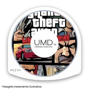 GTA Grand Theft Auto: Liberty City Stories (SEM CAPA) Seminovo - PSP