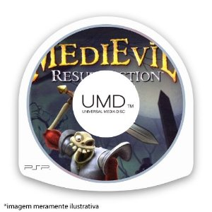 MediEvil: Resurrection (SEM CAPA) Seminovo - PSP