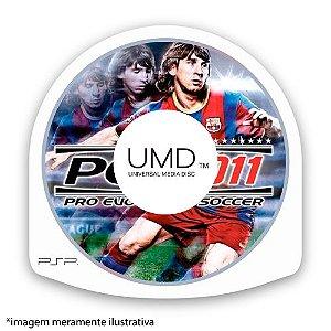 Pro Evolution Soccer 2011 (PES 11) (SEM CAPA) Seminovo - PSP
