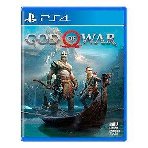 God of War Encartelado Seminovo - PS4