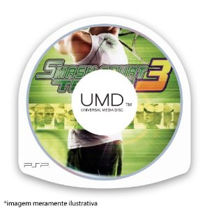 Smash Court Tennis 3 (SEM CAPA) Seminovo - PSP