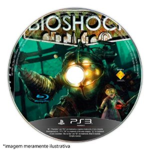 Bioshock (SEM CAPA) Seminovo - PS3