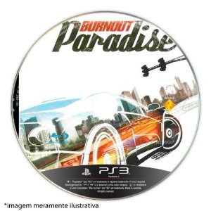 Burnout Paradise (SEM CAPA) Seminovo - PS3
