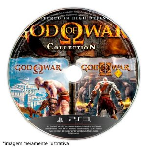 God of War: Collection (SEM CAPA) Seminovo - PS3