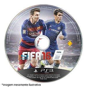 FIFA 16 (SEM CAPA) Seminovo - PS3