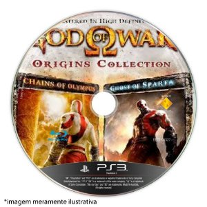 God of War: Origins Collection (SEM CAPA) Seminovo - PS3