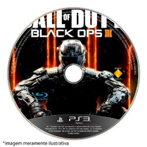 Call of Duty: Black Ops III (SEM CAPA) Seminovo - PS3