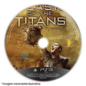 Clash of The Titans (SEM CAPA) Seminovo - PS3