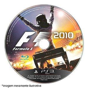 Formula 1 2010 (SEM CAPA) Seminovo - PS3