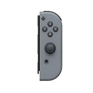 Controle Nintendo Joy-Con Direito Cinza Seminovo - Nintendo Switch