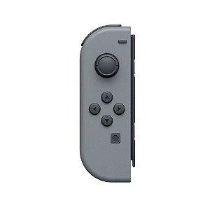 Controle Nintendo Joy-Con Esquerdo Cinza Seminovo - Nintendo Switch