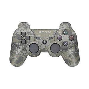 Controle Sony Dualshock 3 Camuflado Seminovo - PS3
