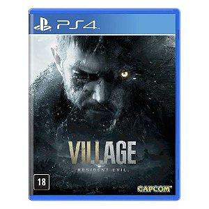 Resident Evil Village Com Brinde Exclusivo - PS4