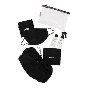 Kit Protect Luggio com Propé e Máscara Antiviral Adulto- 5 peças