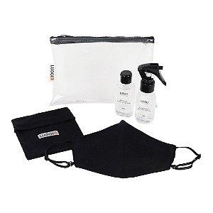 Kit Protect Luggio com Máscara Antiviral Adulto - 4 peças