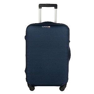 Capa para Mala Luggio Premium Azul Marinho