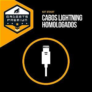 Kit Cabos Lightning MFI Homologados - Gshield