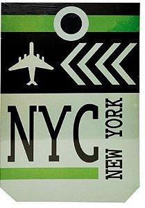 PLACA NYC 20 X 30 CM