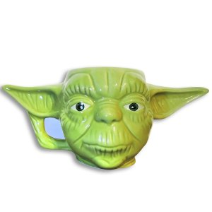 CANECA 3D MESTRE YODA STAR WARS 400 ML