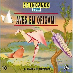 Brincando com Aves em Origami