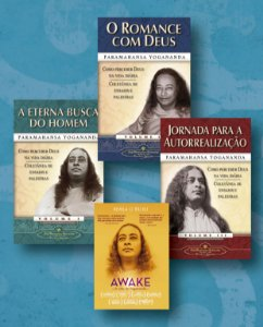 KIT: TRILOGIA DE PALESTRAS DE YOGANANDA + DVD AWAKE