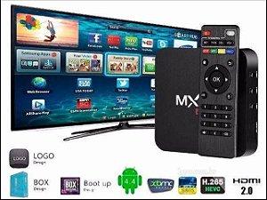 TVBOX 16GB 3GB DE RAM ANDROID 9.0 + IPTV GRÁTIS COM 2000 MIL CANAIS