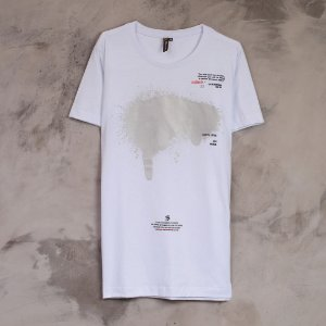 CAMISETA SPRAY PRATA