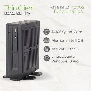 Mini PC - B2728 IZEI Tiny - Intel Celeron até J4105 Quad Core | até 8GB Memória | até SSD 240GB | Windows 10 Pro - Linux
