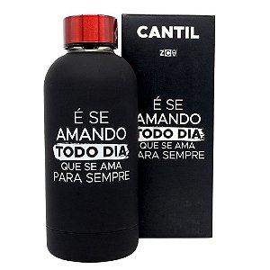 CANTIL TÉRMICO AMANDO TODO DIA 400ML ZONA CRIATIVA