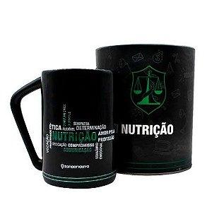 CANECA PROFISSÕES 300ML NUTRIÇÃO ZONA CRIATIVA