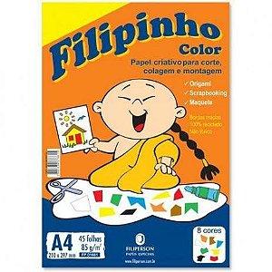 PAPEL CREATIVE FILIPINHO COLOR 85G C/45FL