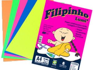 PAPEL CREATIVE FILIPINHO LUMI 85G 50FLS