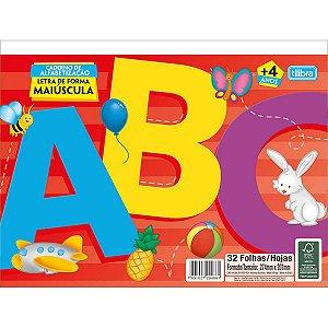 LIVRO INFANTIL ALFABETO LETRA DE FORMA 294861 TILIBRA