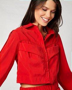 Camisa Alfaiataria Vermelha