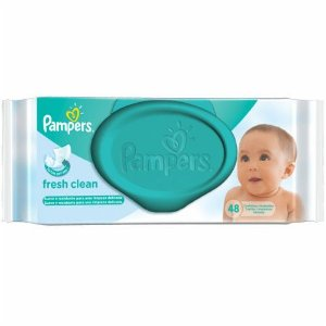 Toalhinha Umidecidas Pampers Fresh Clean