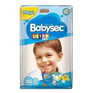Fralda Babysec Ultrasec Mega Xxg 30 Unidades Promoção