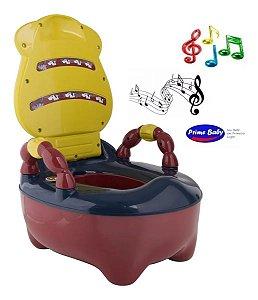 Troninho Musical Colorido Anatômico Fazendinha Prime Baby