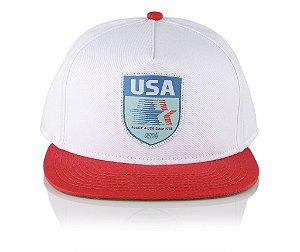 Boné Official FNA USA Red