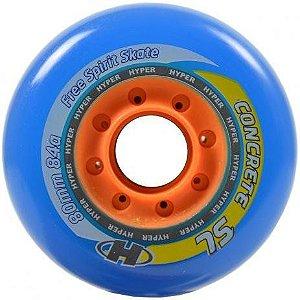 RODA HYPER CONCRETE SL 80MM 84A - 4 UND