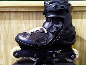 PATINS OXELO FIT 3 41BR (USADO)