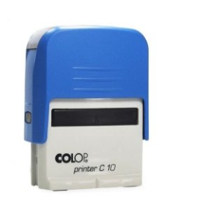 Carimbo Automático Printer C10 - Azul