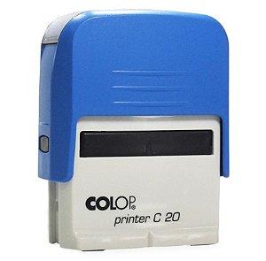 Carimbo Automático Printer C20 - Azul