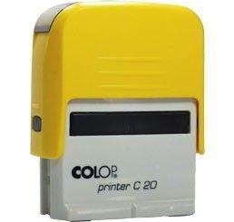 Carimbo Automático Printer C20 - Amarelo