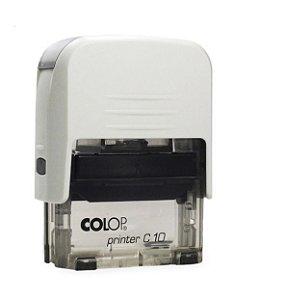 Carimbo Automático Printer C10 - Branco